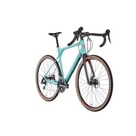 "GT Bicycles Grade Carbon Expert Racercykel 28"" blå/turkos"